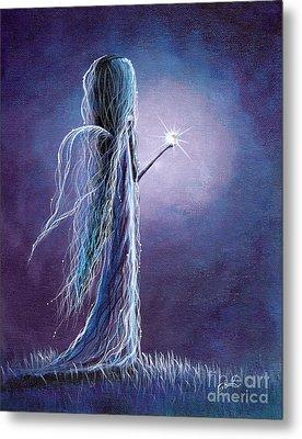 Opal Fairy By Shawna Erback Metal Print by Shawna Erback