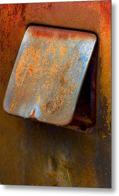 Open Cap Metal Print by Jean Noren