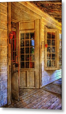 Open For Business Metal Print by Lois Bryan