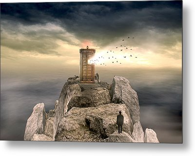 Open Sea Metal Print by Mark Ashkenazi