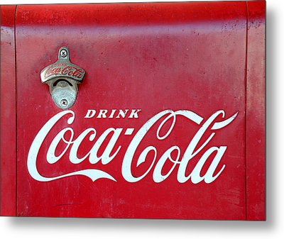 Open The Real Thing Metal Print by David Lee Thompson