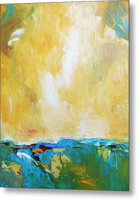 Openness Metal Print by Becky Kim