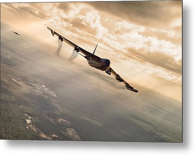 Operation Arc Light Metal Print by Peter Chilelli
