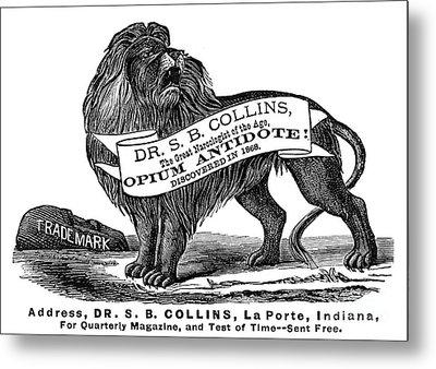 Opium Antidote, 1876 Metal Print by Granger