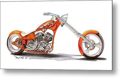 Orange N Tangy Metal Print by Paul Kim