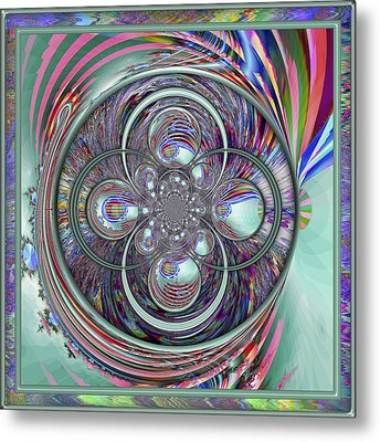 Orb-fuscation Metal Print by Wendy J St Christopher