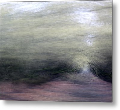 Orchard In Springtime 2 Metal Print by Carol Leigh