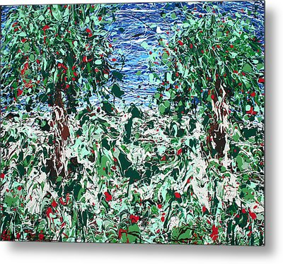 Orchard Number Five Metal Print by Ric Bascobert