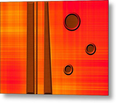 Orderly Thought Metal Print by Wendy J St Christopher