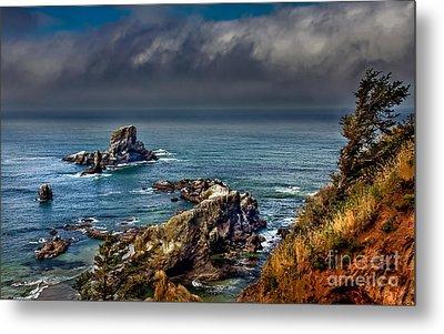 Oregon Coast Metal Print by Robert Bales