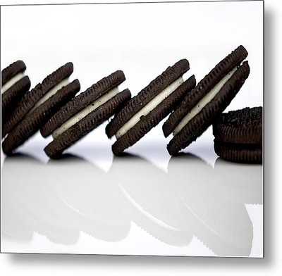 Oreo Cookies Metal Print by Juli Scalzi