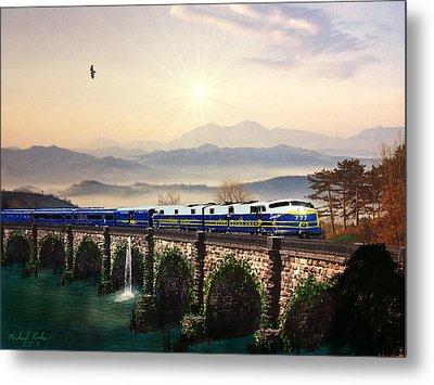 Orient Express Metal Print by Michael Rucker