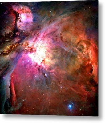 Orion Nebula Close Up 1-2-14 Metal Print by L Brown