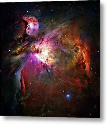 Orion Nebula Metal Print by Ricky Barnard