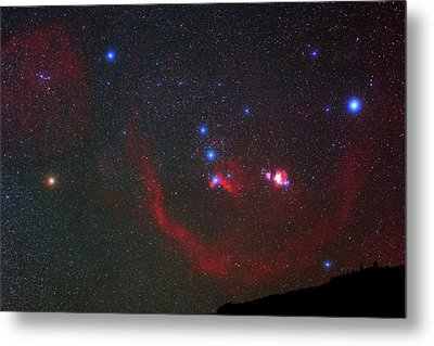 Orion Nebulae Above The Canary Islands Metal Print by Babak Tafreshi