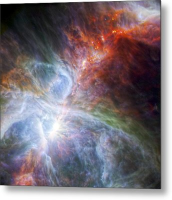Orion's Rainbow Of Infrared Light Metal Print by Adam Romanowicz