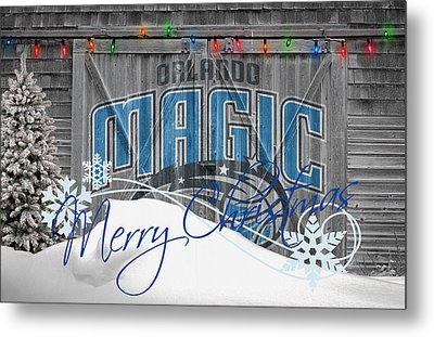 Orlando Magic Metal Print by Joe Hamilton