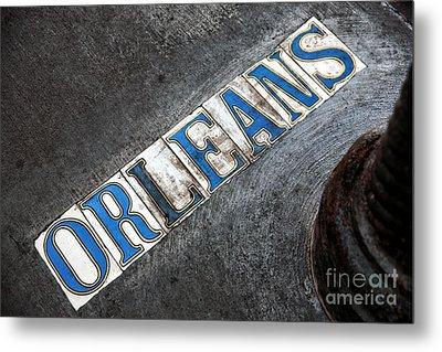 Orleans Metal Print by John Rizzuto