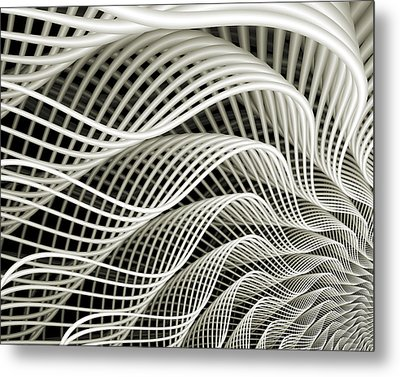 Oscillation Metal Print by Kevin Trow