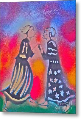 Oshun And Yemaya Metal Print by Tony B Conscious