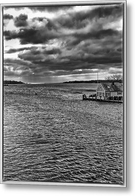 Osterville Metal Print by Keith Woodbury