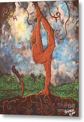 Our Dance With Nature Metal Print by Stefan Duncan
