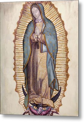 Our Lady Of Guadalupe Metal Print by Richard Barone