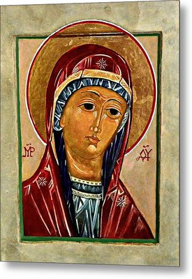 Our Lady Of Springfield Metal Print by Marcelle Bartolo-Abela