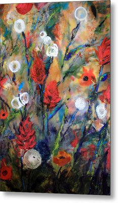 Our Wish Is Simple Metal Print by Mary C Farrenkopf
