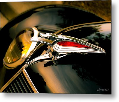 Out Front Metal Print by Steven Milner