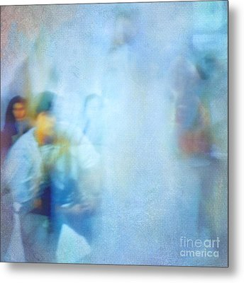 Out-of-focus Metal Print by VIAINA Visual Artist