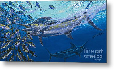 Out Of The Blue Off009 Metal Print by Carey Chen