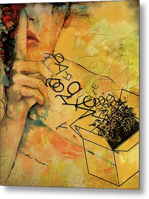 Out Of The Box Metal Print by Corporate Art Task Force