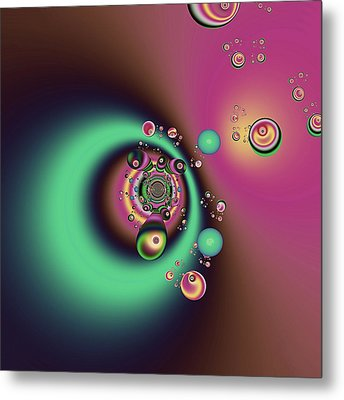 Out Of The Dark Metal Print by Wendy J St Christopher