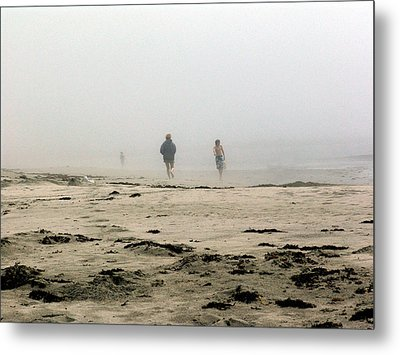 Out Of The Fog Metal Print by George Cousins