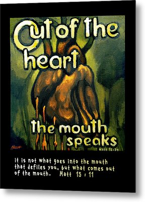 Out Of The Heart Metal Print by Patricia Howitt