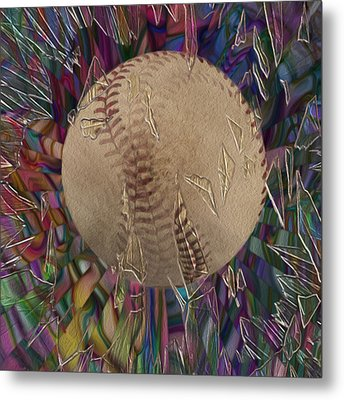 Out Of The Park Metal Print by Jack Zulli