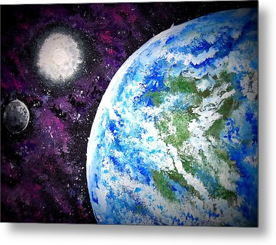 Out Of This World Metal Print by Daniel Nadeau