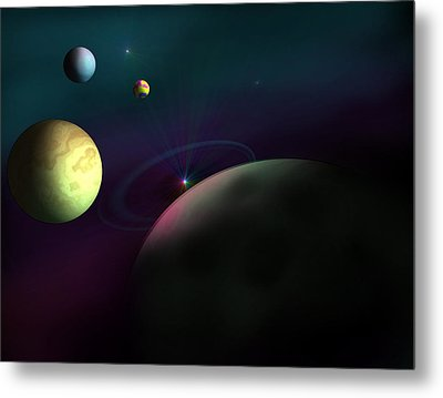 Outer Region Metal Print by Ricky Haug