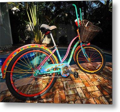 Outrageous Bike Metal Print by Rob O'Neal