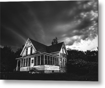 Over The Hills Metal Print by Kenny  Noddin