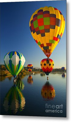 Over The Water Metal Print by Mike  Dawson