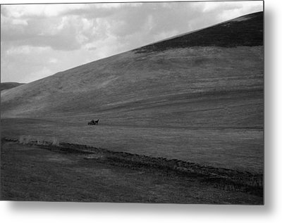 Overwhelmingly The Hill Metal Print by Silvia Floarea Toth
