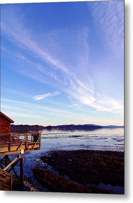 Oyster Flats Metal Print by Pamela Patch