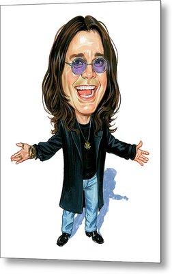 Ozzy Osbourne Metal Print by Art