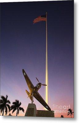 P-40 Warhawk Memorial Metal Print by Craig Wood
