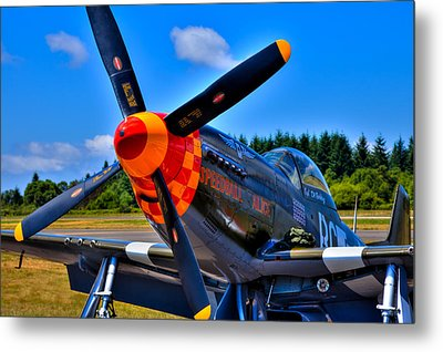 P-51 Mustang - Speedball Alice Metal Print by David Patterson