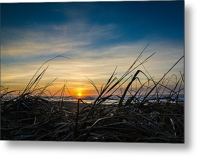 Pacific Coast Sunset Metal Print by Puget  Exposure