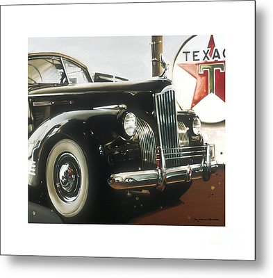 Packard Metal Print by Toni Mendina