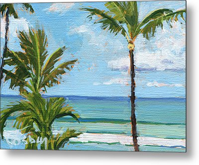 Paia Palms 2 Metal Print by Stacy Vosberg